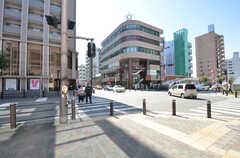 各線・湘南台駅近くの様子。(2014-09-30,共用部,ENVIRONMENT,1F)