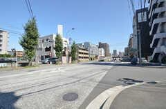 駅からシェアハウスへ向かう道の様子。(2014-09-30,共用部,ENVIRONMENT,1F)