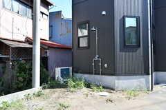 屋外シャワー付きです。(2017-09-19,共用部,GARAGE,1F)