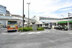 JR・辻堂駅の様子。(2017-09-19,共用部,ENVIRONMENT,1F)