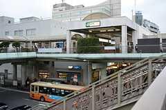 各線・藤沢駅の様子。(2016-02-24,共用部,GARAGE,2F)