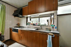 キッチンの様子。(2020-11-12,共用部,KITCHEN,1F)