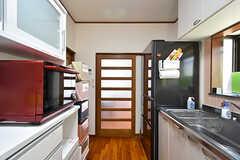 キッチンの様子3。(2016-09-05,共用部,KITCHEN,1F)