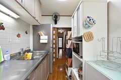 サブのキッチンの様子2。(2016-09-05,共用部,KITCHEN,1F)