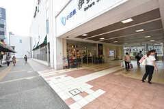 駅にはスーパーが入っています。(2016-09-05,共用部,ENVIRONMENT,1F)