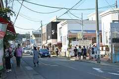 江ノ島電鉄線・長谷駅周辺の様子。(2016-07-06,共用部,ENVIRONMENT,1F)