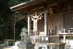 住宅近くの神社の様子。(2016-01-05,共用部,ENVIRONMENT,1F)