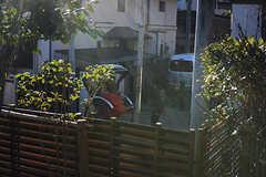 建物のすぐ目の前が、人力車の通り道。(2017-12-05,共用部,OTHER,1F)
