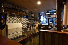 カフェのキッチン。入居者さんは使用しません。(2017-12-05,共用部,OTHER,1F)