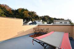 屋上の様子2。(2016-12-05,共用部,OTHER,3F)