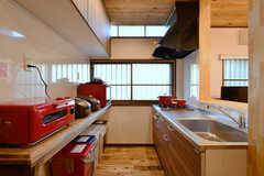 リビングの隣がキッチンです。(2020-01-08,共用部,KITCHEN,1F)
