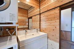 洗面台の様子。(2020-01-08,共用部,WASHSTAND,1F)