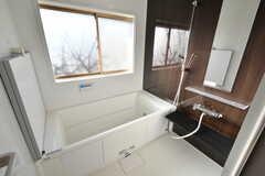 バスルームの様子。とても明るいです。(2020-01-08,共用部,BATH,1F)