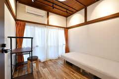 専有部の様子。部屋の名前は「柿」。(102号室)(2020-01-08,専有部,ROOM,1F)