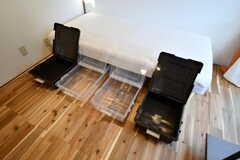 全室ベッド下収納が付いています。(103号室)(2020-01-08,専有部,ROOM,1F)
