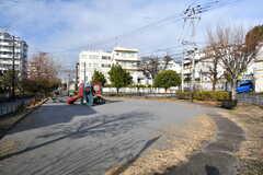 近くの公園の様子。(2020-01-08,共用部,ENVIRONMENT,1F)