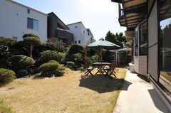 庭の様子。(2013-03-22,共用部,OTHER,1F)