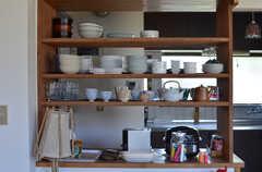 食器棚の様子。(2013-03-22,共用部,OTHER,1F)