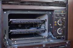 オーブンも使用できます。(2013-03-22,共用部,KITCHEN,1F)