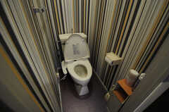 ウォシュレット付きトイレの様子。(2013-03-22,共用部,TOILET,1F)