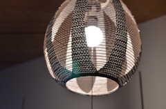 ランプの様子。(102号室)(2013-03-22,専有部,ROOM,1F)