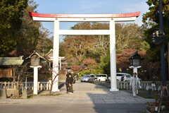 シェアハウス周辺の様子。鎌倉宮があります。(2018-11-28,共用部,ENVIRONMENT,1F)
