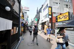 各線・鎌倉駅近くの商店街。(2014-10-28,共用部,ENVIRONMENT,1F)