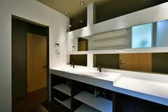 洗面台の様子2。(2017-03-14,共用部,WASHSTAND,1F)