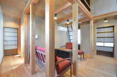2階は女性専用フロアです。(2015-05-26,共用部,LIVINGROOM,2F)