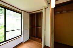 収納の様子2。(203号室)(2018-05-12,専有部,ROOM,2F)