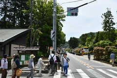 JR横須賀線・北鎌倉駅前の様子。(2018-05-12,共用部,ENVIRONMENT,1F)