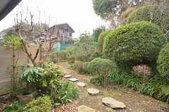 縁側から見た庭の様子。(2015-01-28,共用部,OTHER,1F)