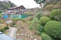 窓からは庭が眺められます。(202号室)(2015-01-28,専有部,ROOM,2F)