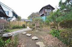 庭の様子。(2015-01-28,共用部,OTHER,1F)