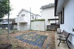 家庭菜園の様子。入居者さんが自由に使えます。(2015-01-28,共用部,OTHER,1F)