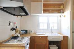 シンク上の吊り戸棚はこんな感じ。(2013-03-12,共用部,KITCHEN,2F)