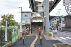 湘南モノレール・湘南深沢駅の様子。(2018-09-12,共用部,ENVIRONMENT,1F)