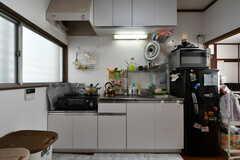 キッチンの様子2。(2017-12-05,共用部,KITCHEN,1F)
