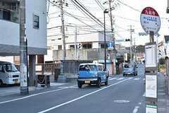 各線・逗子駅行きのバス停の様子。(2017-01-17,共用部,ENVIRONMENT,1F)