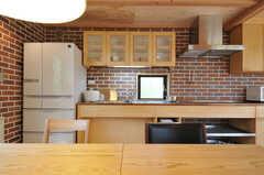 キッチンの様子。(2013-04-05,共用部,KITCHEN,1F)