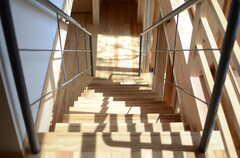 階段の様子2。(2013-04-05,共用部,OTHER,2F)