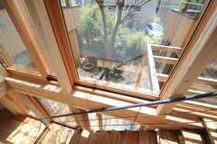 窓の様子。(2013-04-05,共用部,OTHER,2F)