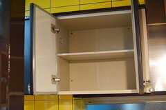吊り棚はひとり1扉分使えます。(2016-06-21,共用部,KITCHEN,1F)
