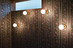 不思議な並びの電球です。(104号室)(2016-06-21,専有部,ROOM,1F)