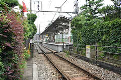 江ノ島電鉄・和田塚駅までは徒歩30秒ほど。(2016-06-21,共用部,ENVIRONMENT,1F)