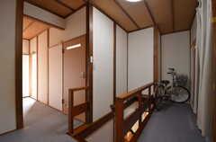 廊下の様子。(2015-10-29,共用部,OTHER,2F)