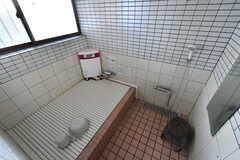 バスルームの様子。循環風呂でいつでも入ることができます。(2019-12-12,共用部,BATH,1F)