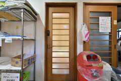 専有部のドア。(102号室)(2019-12-12,専有部,ROOM,1F)