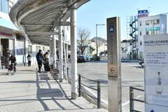 各線・逗子駅前の様子。(2019-12-12,共用部,ENVIRONMENT,1F)
