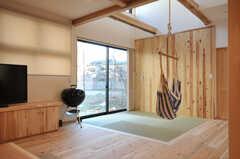 畳スペースの様子。(2014-03-24,共用部,LIVINGROOM,1F)